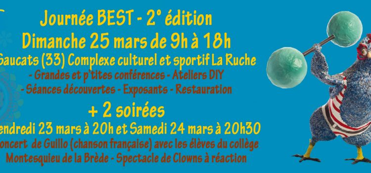 BEST à Saucats – Saison 2 le 25/03