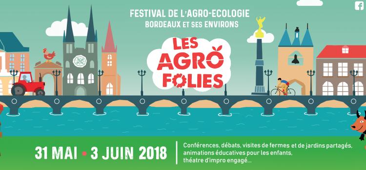 Les agrofolies à Bordeaux du 31 Mai au 3 Juin